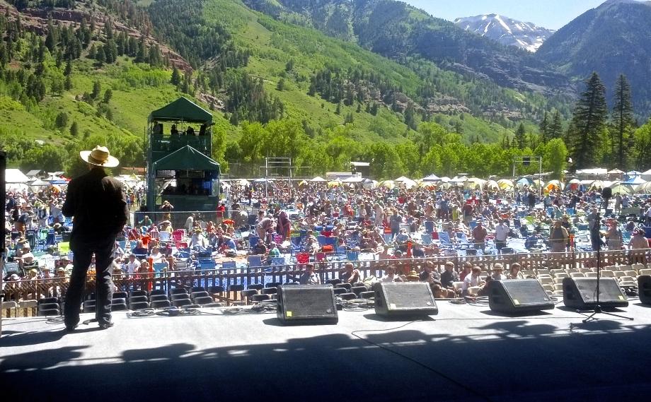 Emcee Joe - Telluride Bluegrass Festival 2014